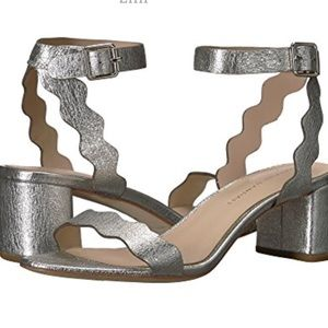 Loeffler Randall metallic sandal